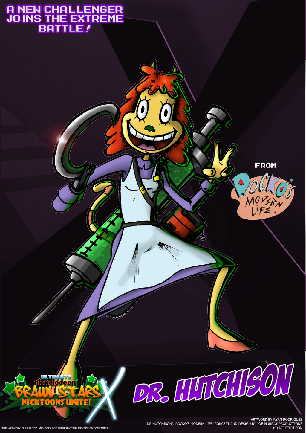 Nicktoons - Dr. Hutchison by NewEraOutlaw on DeviantArt Quailman Doug Costume