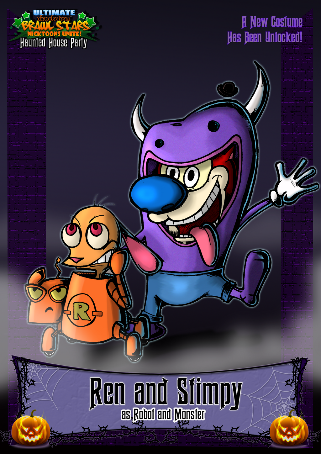 Nicktoons - Ren and Stimpy (Halloween Costume) by NewEraOutlaw