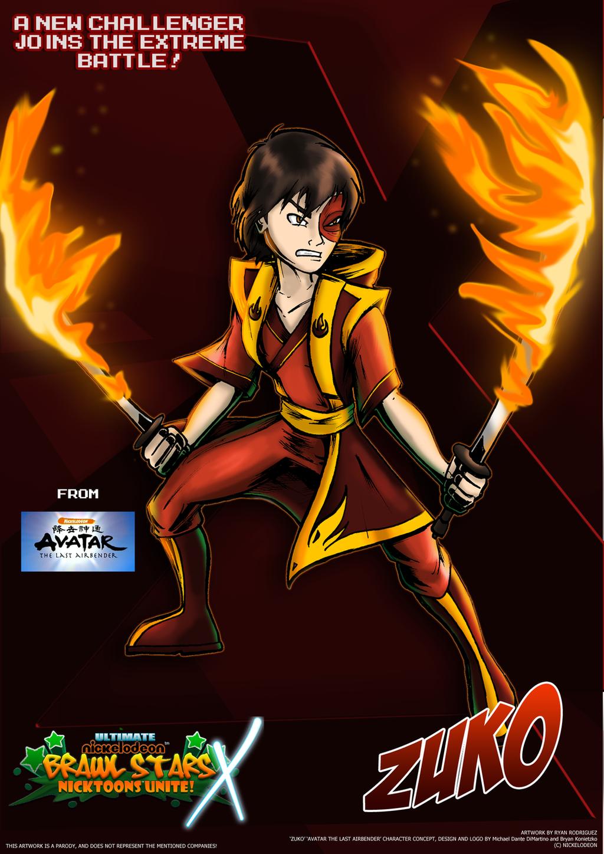 Nicktoons - Zuko (Voter's Choice #2) by NewEraOutlaw