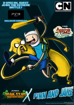 Nicktoons - Finn and Jake (PS3 Exclusive!)