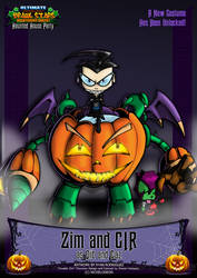 Nicktoons - Invader ZIM (Halloween Costume) by NewEraOutlaw