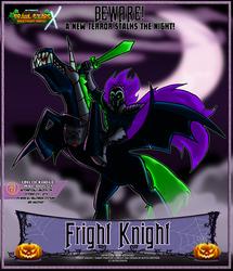 Nicktoons - Fright Knight (Mid-Boss)