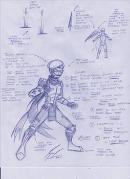 Vigilant Concept Sketch - 2020
