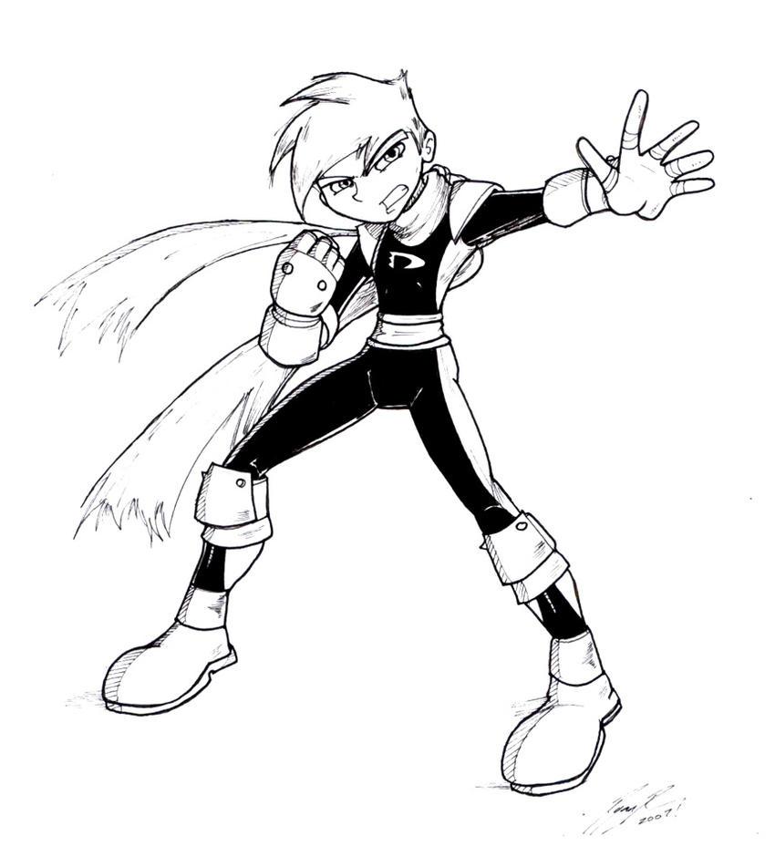 Danny Phantom Sketch 2007 By NewEraOutlaw On DeviantArt