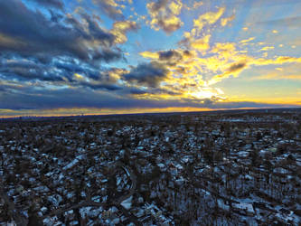 Drone Sunset VI by FinelliFotography