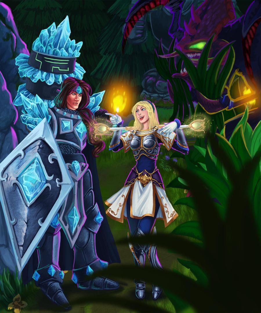 Lux Double Rainbow Quote: League Of Legends Art