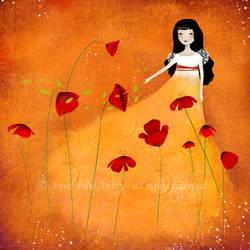Springtime Blossom by AnneJulieAubry