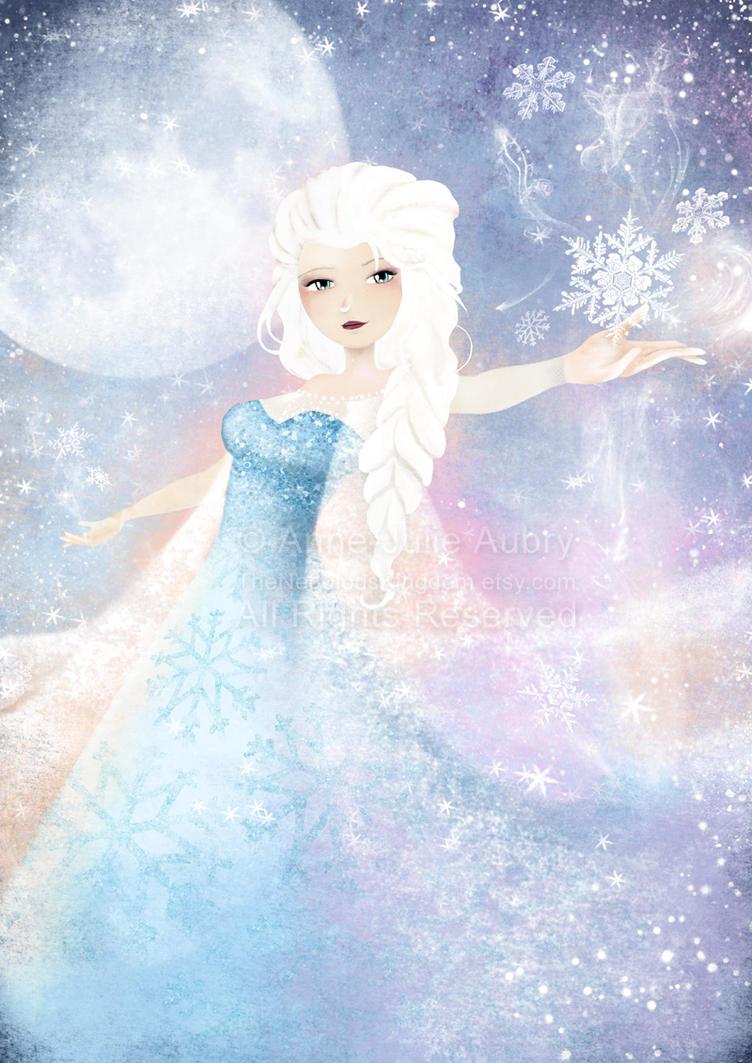 Elsa (Frozen) by AnneJulieAubry