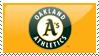 Oakland Athletics stamp by RWingflyr