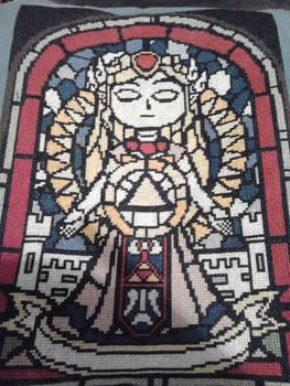 Zelda Cross Stitch Complete