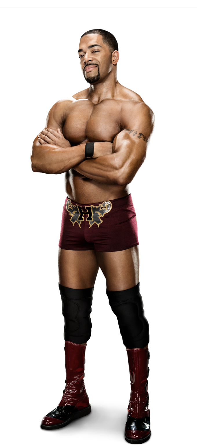 David Otunga by SantiagoWWE12 on DeviantArt