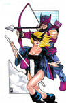 Mockingbird and Hawkeye
