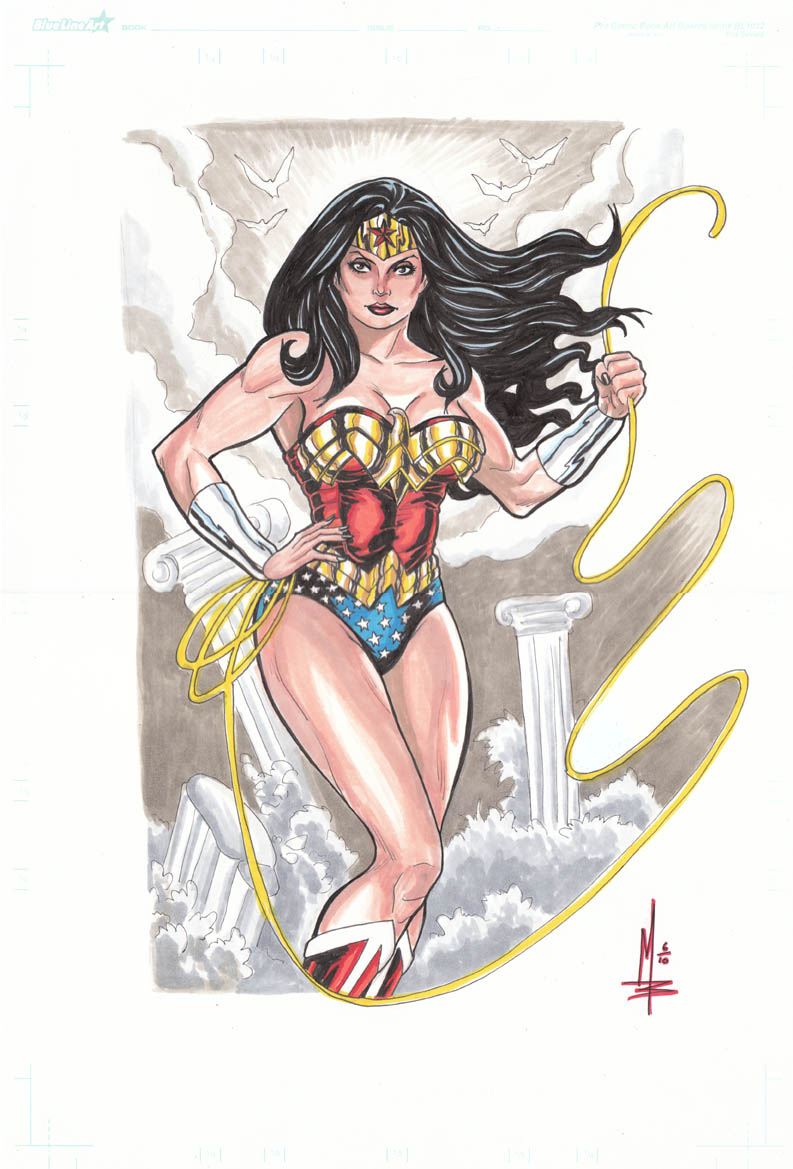 Wonder Woman Lasso by montrosity