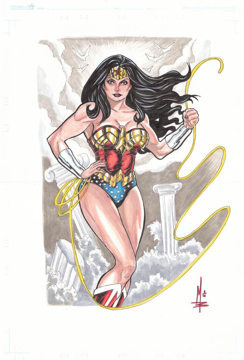 Wonder Woman Lasso by montrosity