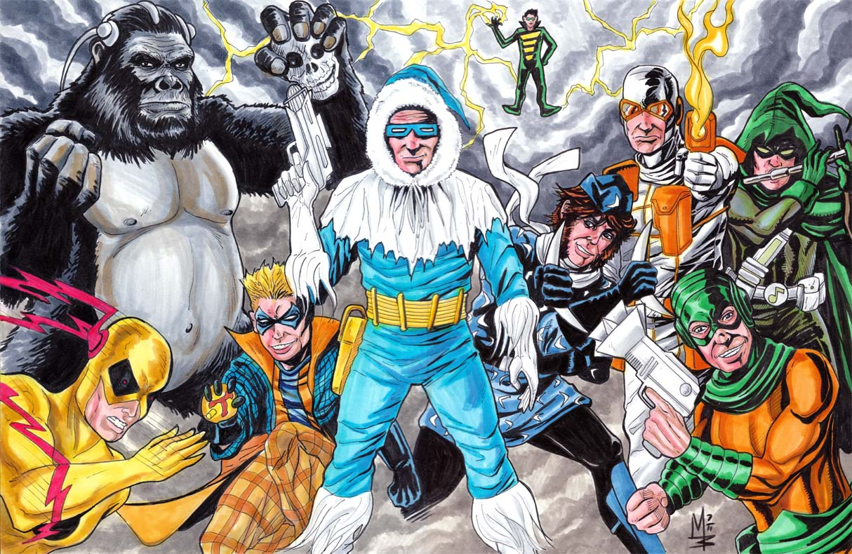Flash Rogues Gallery b...