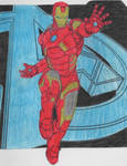 Coloring: Tony Stark #1