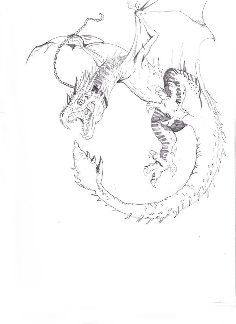 Hungarian Horntail By Chibi Dragoness On DeviantArt