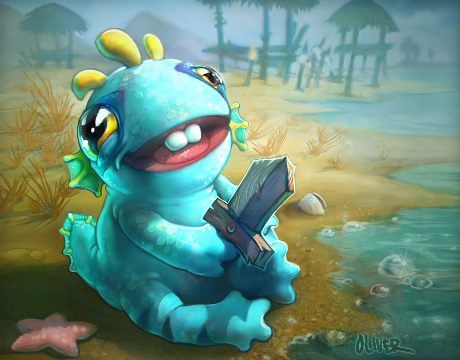 baby_murloc_wow_tcg_card_by_osobogly-d5w