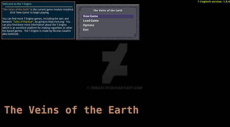 Veins of the Earth main menu