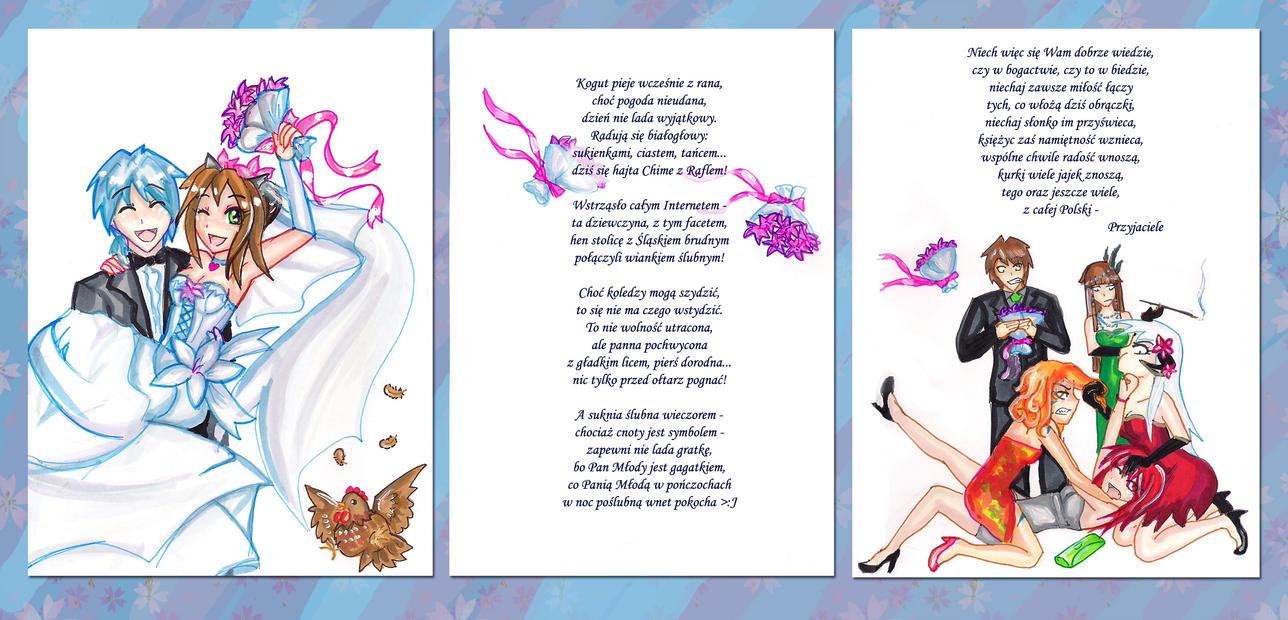 Rafl's and Chi's wedding by niziolek