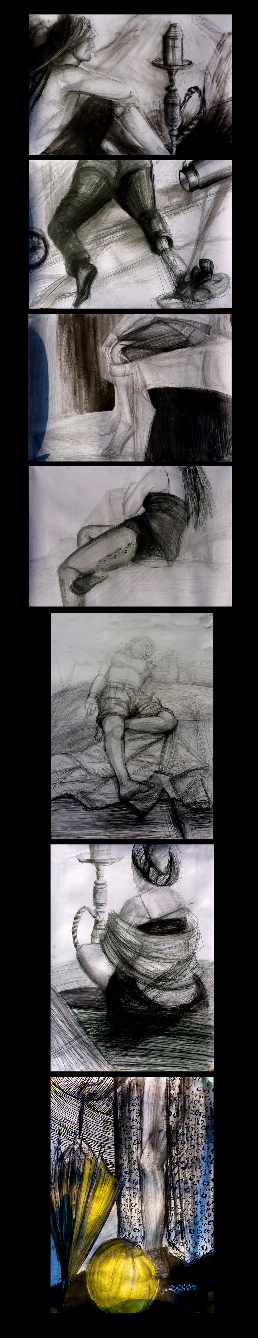 My old drawings by niziolek