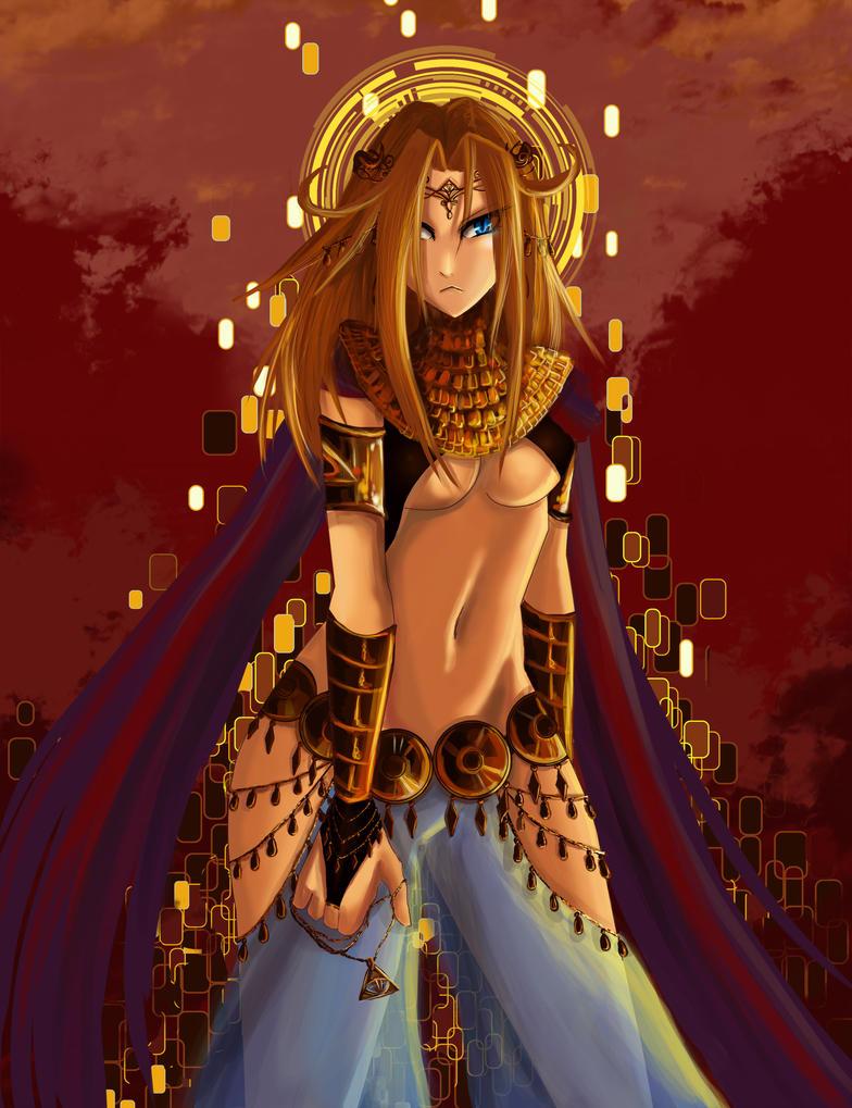 Goddess by niziolek