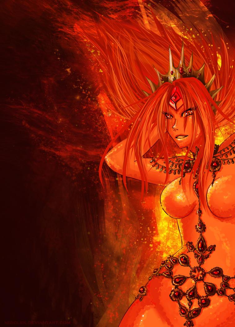 Flame Princess by niziolek