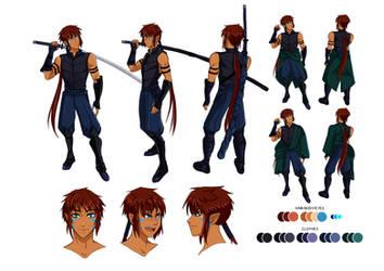 Character Design: Assan Ighaan by niziolek