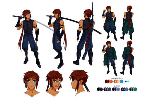 Character Design: Assan Ighaan
