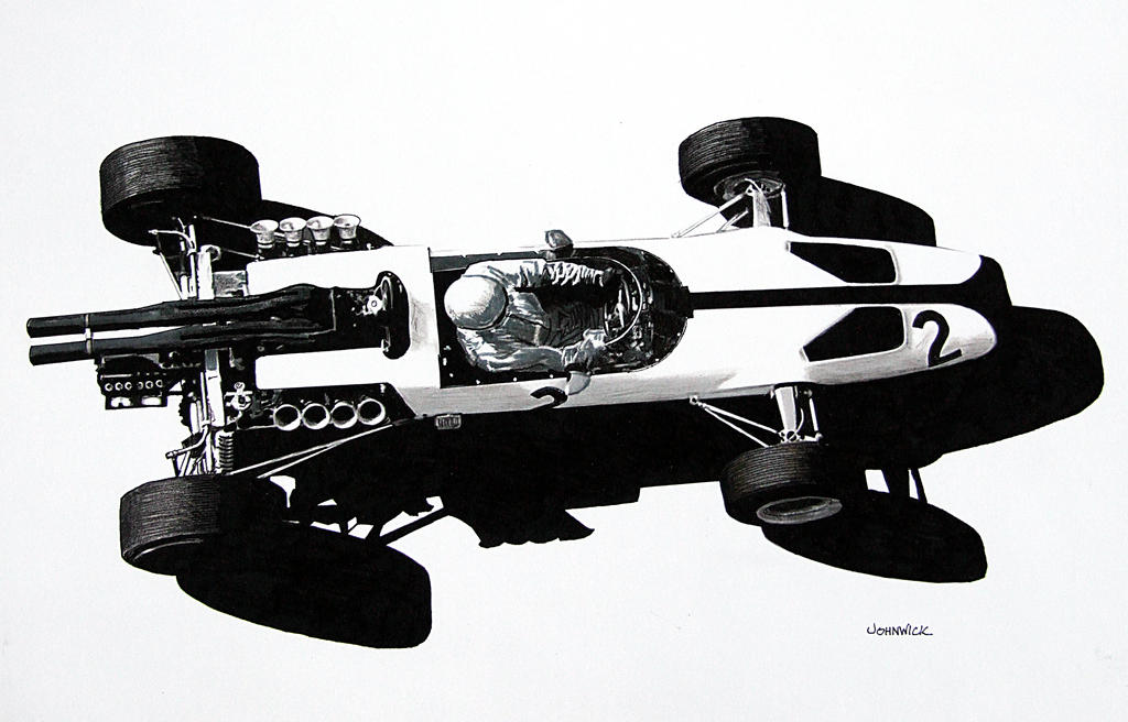 McLaren MK 2B by johnwickart