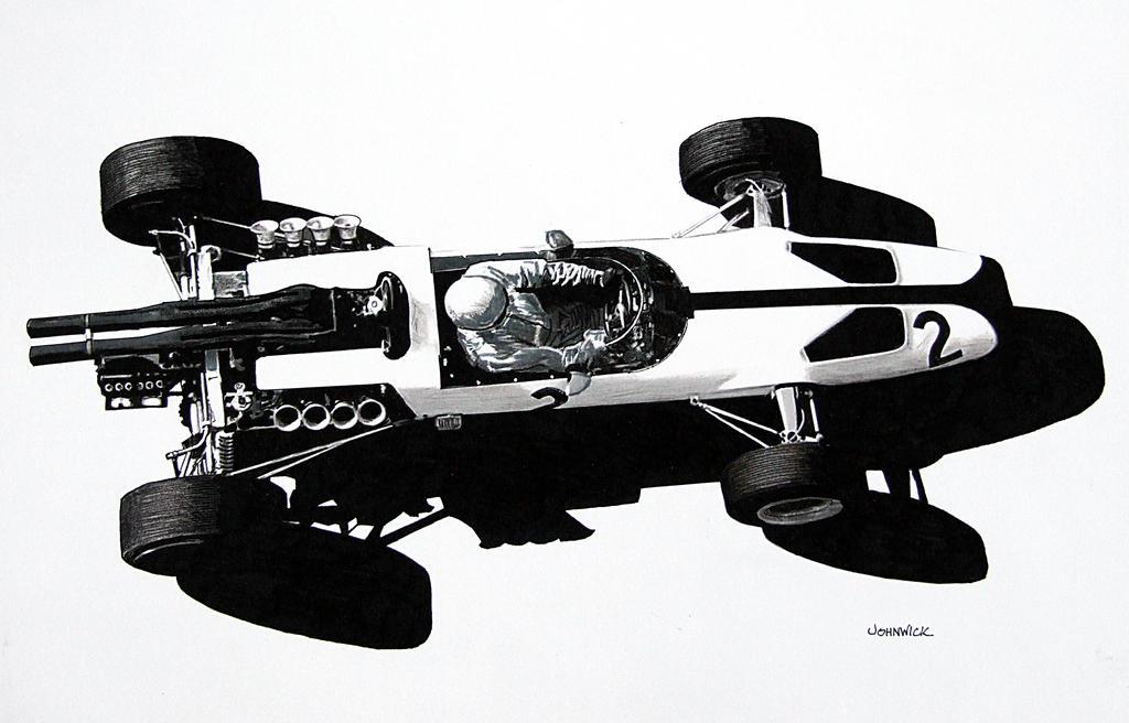 McLaren MK 2B by johnwickart