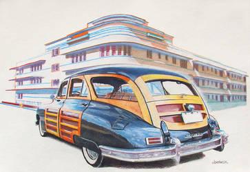Art Deco by johnwickart