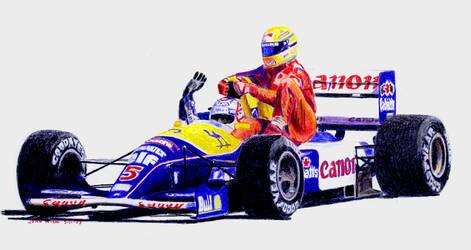 Mansel and Senna