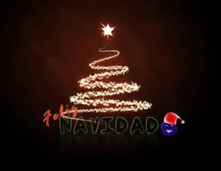 Wallpaper - Navidad by ArkadyNekozukii