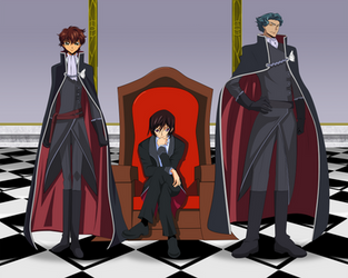 Dauntless: Lelouch and his Knights of Honor by ArkadyNekozukii