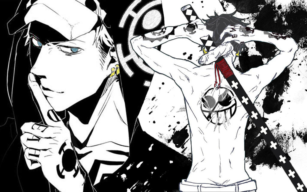 1000+ images about Trafalgar D. Watel Law & Heart Pirates ...