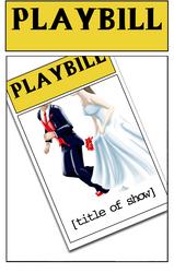 Wedding Playbill Parody 9