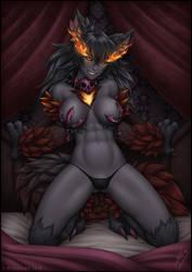 C: Hellhound by WickedJuti