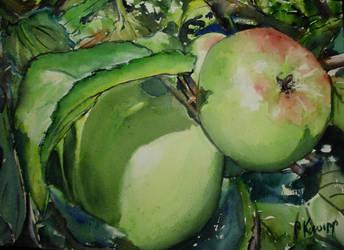 Little Green Apples 2 by p-e-a-k