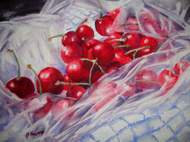 Still life with cherries no. 2