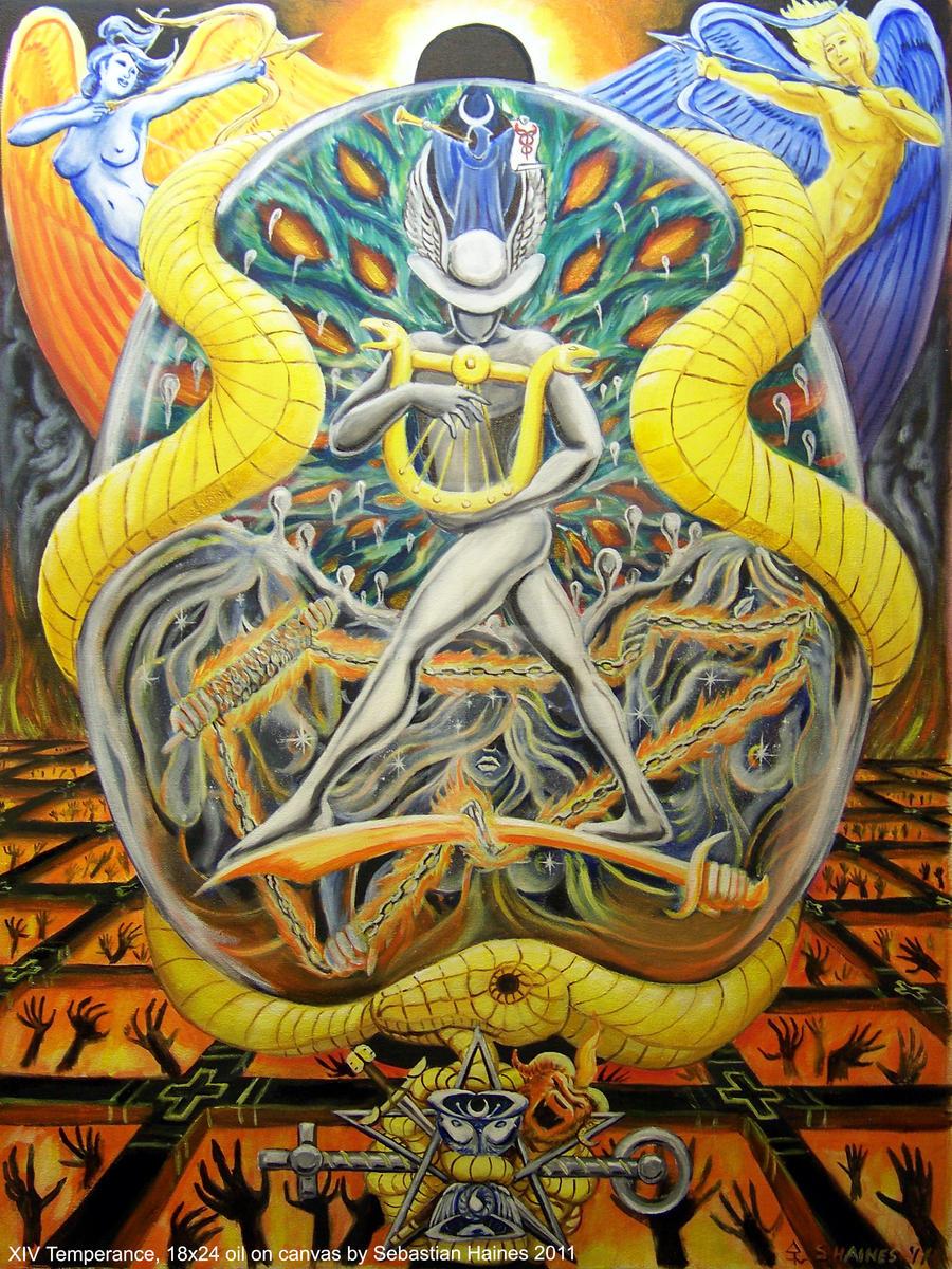 Xiv Temperance Balance Archangel Zadkiel: XIV Temperance By Stalkinghyena On DeviantArt
