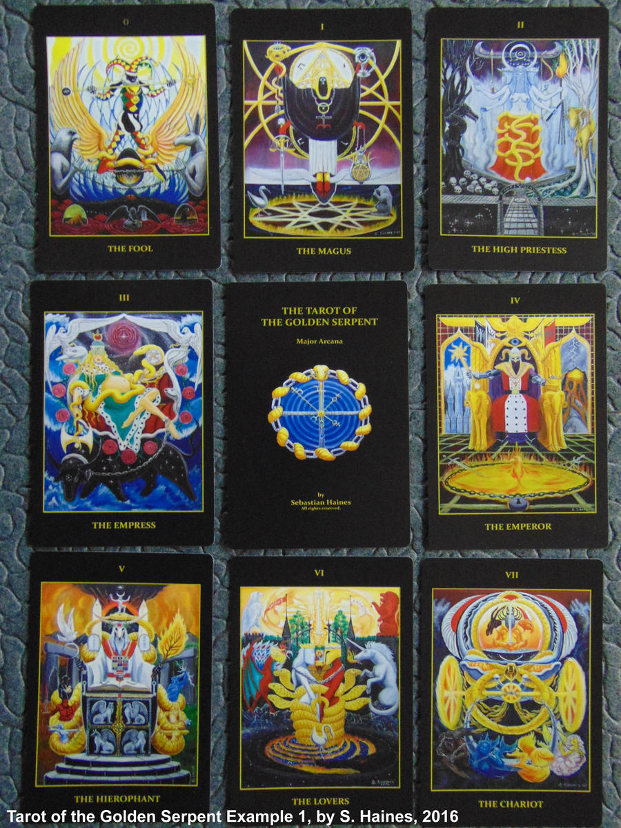 New Tarot of the Golden Serpent Publication 1 by