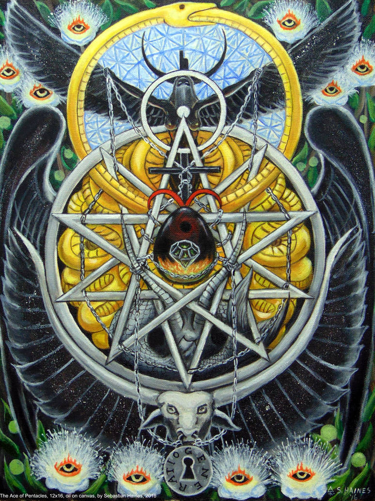 The Ace of Pentacles by stalkinghyena on DeviantArt