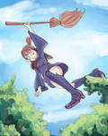 Little witch academia colored