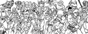 80s Cartoon Heroes