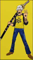 Trafalgar Law by cheeseman801