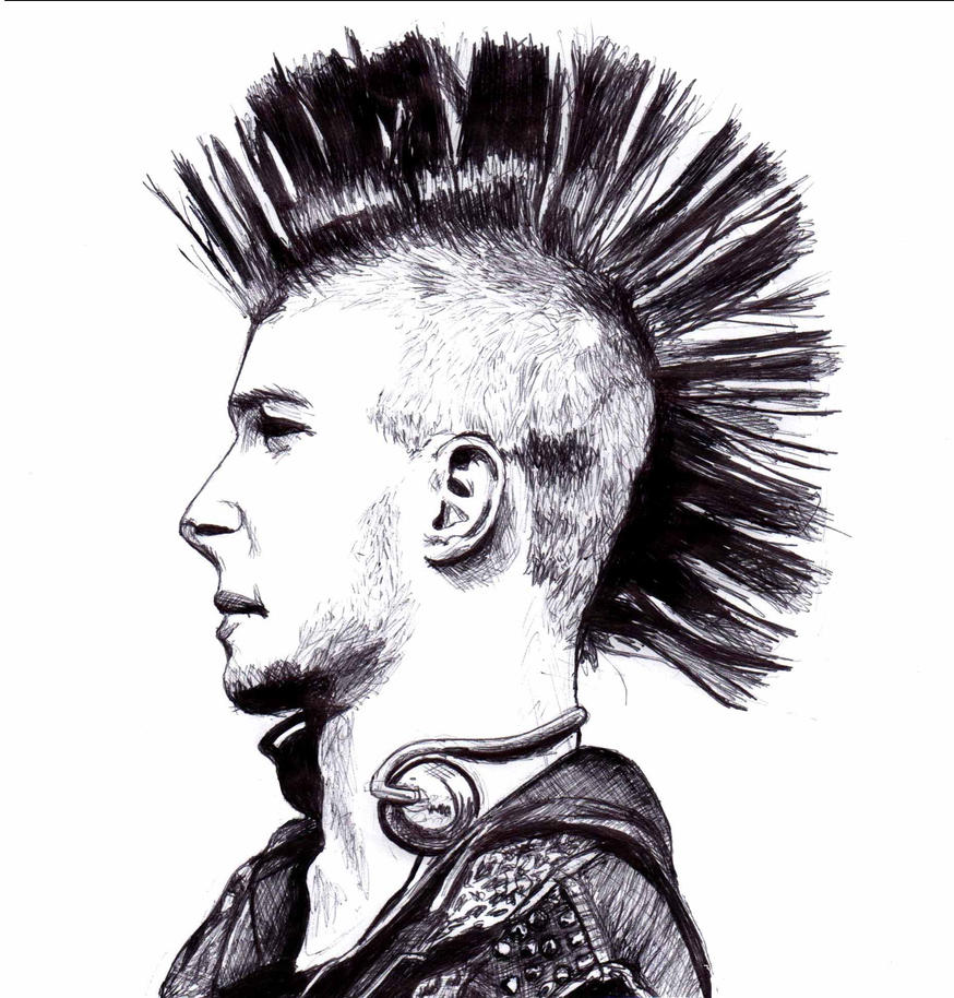 Mohawk Drawing by EMZL on DeviantArt