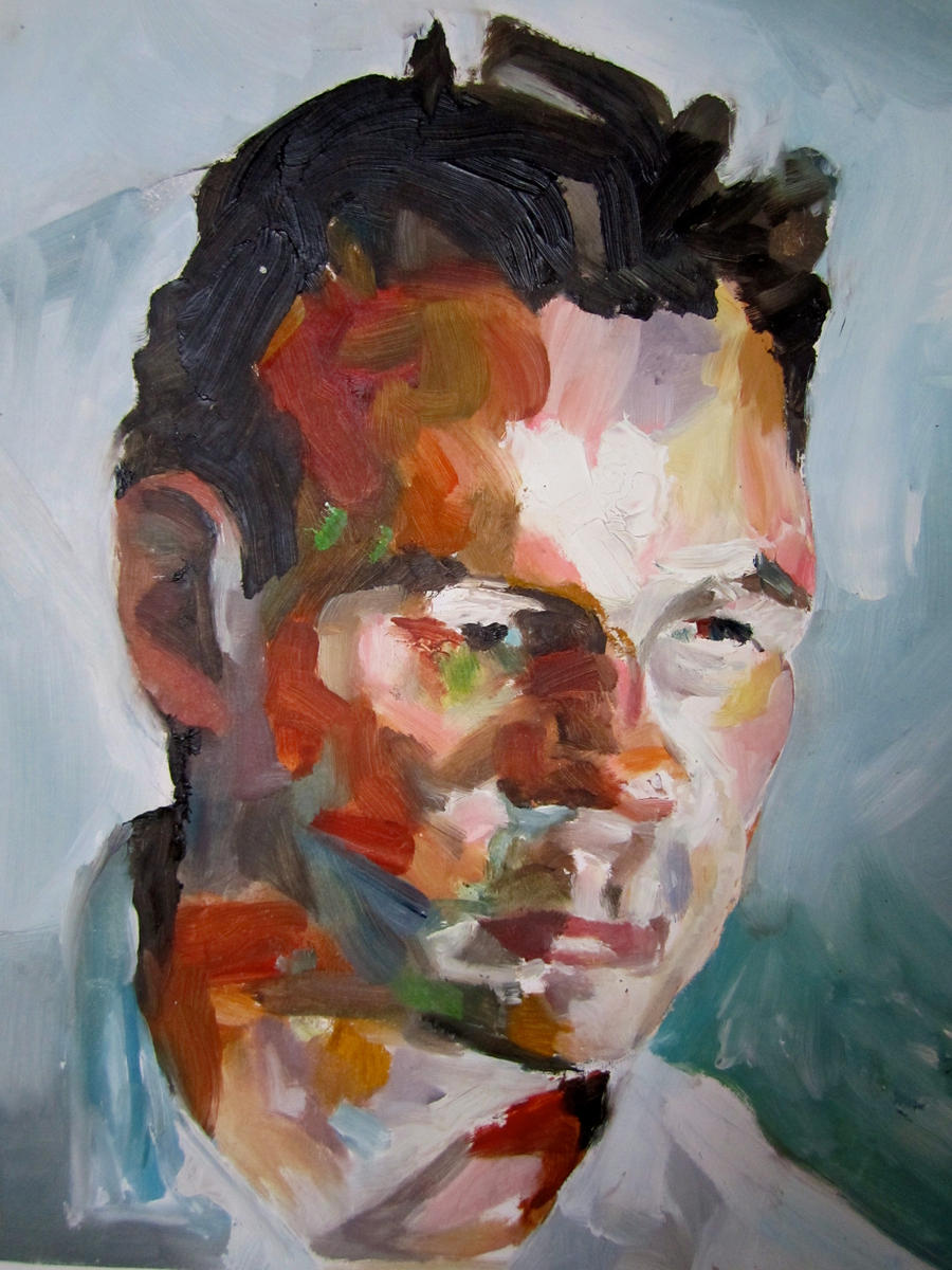 Impressionism portrait by EMZL on DeviantArt