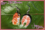 Salmon Special Earrings
