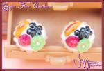 Fruit Tart Stud Earrings